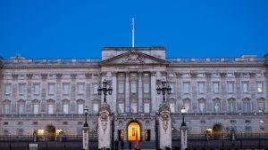 Öinen kuva Buckinghamin palatsista