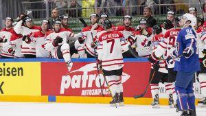 Kanadan jääkiekkomaajoukkue.