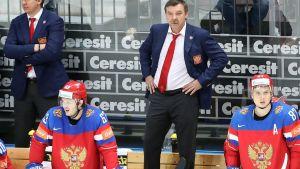 Venäjän valmentaja Oleg Znarok