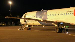 Denim Air Fokker 100 lappeenranta