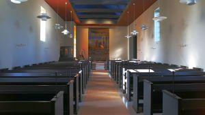 Remontti palautti Muuramen kirkon alkuperäiseen väriloistoon.