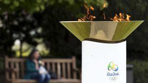 Rion olympiatuli.