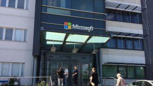 Microsoftin työntekijöitä Tampereella