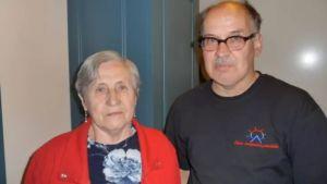 Zoja Nosova ja Erkki Lumisalmi.
