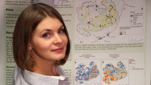 Yhteiskuntatieteiden maisteri Olga Hannonen on tehnyt väitöstutkimuksen Suomessa kesämökin omistavista venäläisistä.