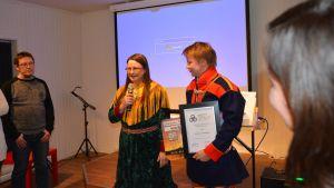 Niillas Holmberg ja Inger-Mari Aikio