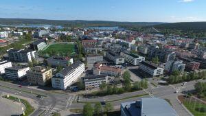 Rovaniemen kaupungin keskusta