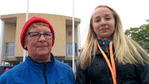 Inkeri Strandén ja Estella Laasonen.
