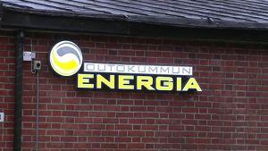 Outokummun Energian logo.