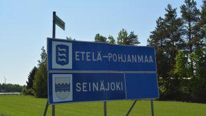 Kuva Seinäjoen ja Isonkyrön rajalta kesältä 2016