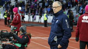Islannin päävalmentaja Lars Lagerbäck.