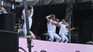 Antti Tuisku lavalla YleX Popissa 4.6.2016