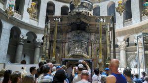 Pyhän haudan kirkko Jerusalemissa.