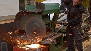 Metalliteollisuus.