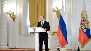 Vladimir putin Kremlissä.