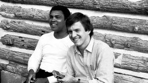 Muhammad Ali ja Rauli Virtanen.