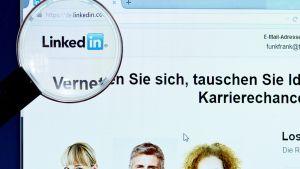Linkedin -verkkosivusto.