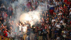 Venäjän fanit Marseillessa