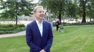 Kuurojen Liiton toiminnanjohtaja Markku Jokinen.