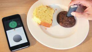 DietSensorilla skannataan ruokaa.