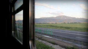 Karpaatit Romaniassa lähellä Unkaria.