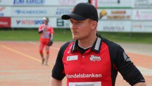 Joensuun Mailan pelinjohtaja Petri Pennanen.