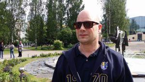 Jääkiekkovalmentaja Risto Dufva.