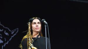 PJ Harvey esitti enimmäkseen huhtikuussa julkaistun The Hope Six Demolition Project -albumin kappaleita.
