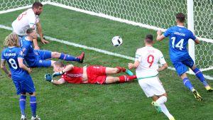 Birkir Saevarsson Islanti UEFA EURO 2016 EM-jalkapallo
