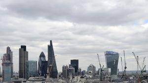 Lontoon City on Euroopan johtava rahoitusalan keskus.