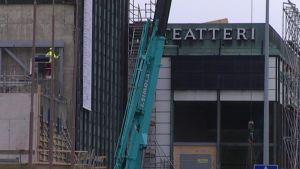 Kaupunginteatteri remontissa