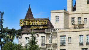 Skientologien kirkko Hollywoodissa.