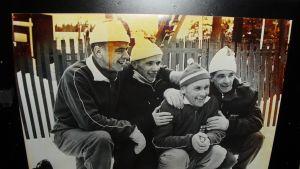 Suomen hiihdon kultajoukkue vuodelta 1960
