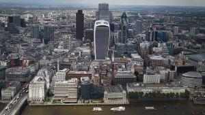 Yleiskuva Lontoon Citystä