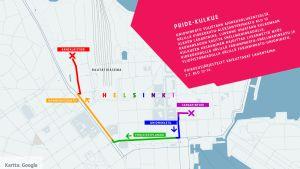 Helsinki Pride -kartta