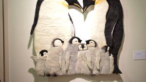 Emperor penguin, seinävaate, Jitsuko Hanazawa,