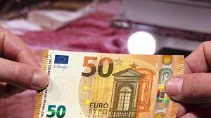 50 euron seteli.