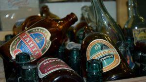 Tähti-olutta ja Loimaan pilsneriä.