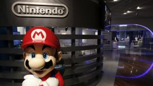 Mario Nintendon kaupassa Tokiossa.