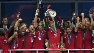 Portugali on Euroopan mestari.