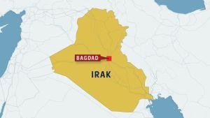 Irakin kartta.