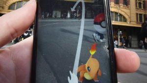Pokemon Go -mobiilipelin kuvaa.