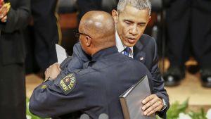 Barack Obama ja David Brown