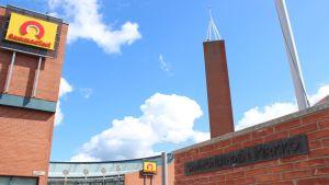 Sammonladen kirkon torni