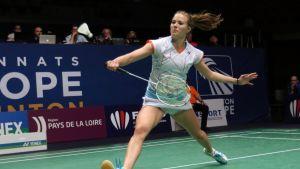 Nanna Vainio EM-kisoissa La Roche sur Yonissa 2016.