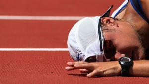 Jarkko Kinnunen Pekingin olympiakisoissa 2008.
