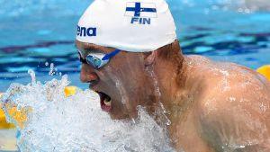 Matti Mattsson Lontoon EM-kisoissa 2016.
