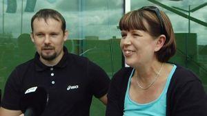 Timo ja Katja Kinnunen joutuivat muuttamaan matkasuunnitelmiaan vallankaappausyrityksen vuoksi.