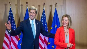 Kerry ja Mogherini