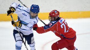 Janne Kuokkanen 2015 Ivan Hlinka Memorial Cupissa 2015.